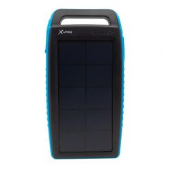 XLAYER POWERBANK PLUS SOLAR 15.000 MAH FEKETE/KÉK