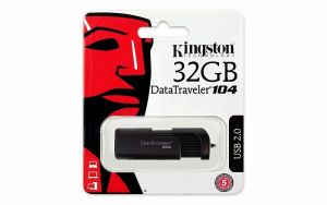 Kingston USB 2.0 DATATRAVELER 104 32GB