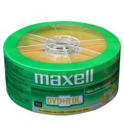 Maxell DVD+R 8x DL DVD Shrink (25)