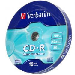 Verbatim CD-R 52X SHRINK (10)