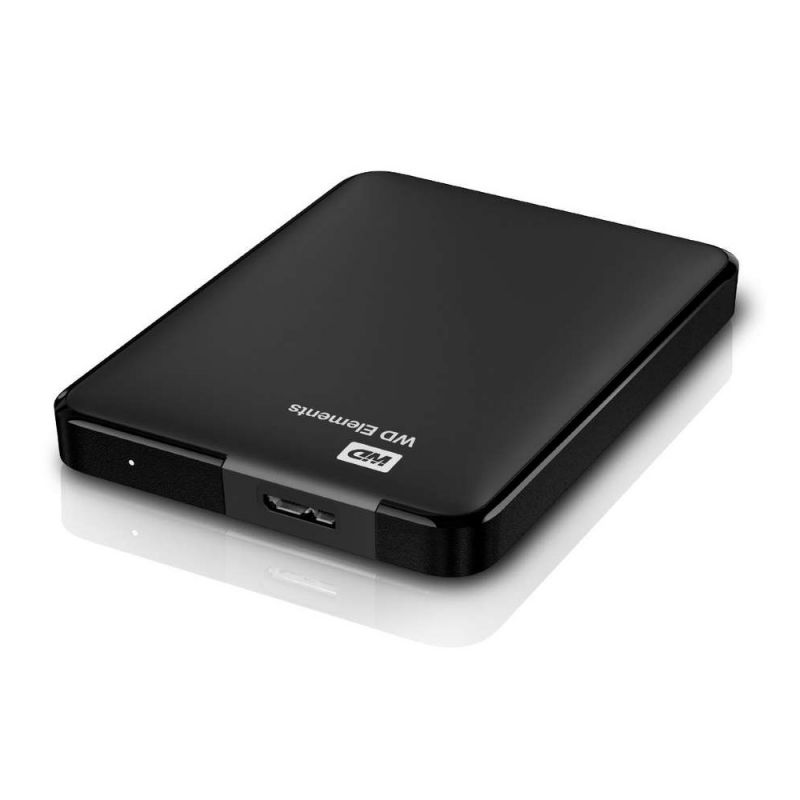 Western Digital Elements Portable 2.5 külső merevlemez 1TB USB 3.0 SmartWare Black