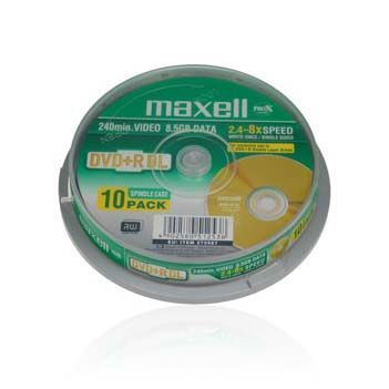 Maxell DL DVD 8x Cake (10)