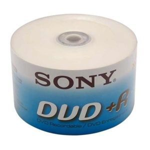 Sony DVD+R 16x Shrink (50)